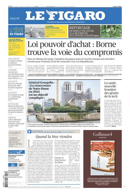 Abonement LE FIGARO BUSINESS - Revue - journal - LE FIGARO BUSINESS magazine