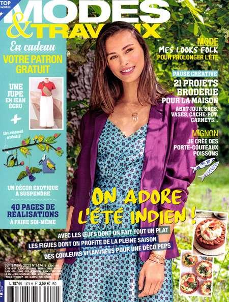 Achat et abonnement MODES ET TRAVAUX - Revue, magazine, journal MODES ET TRAVAUX