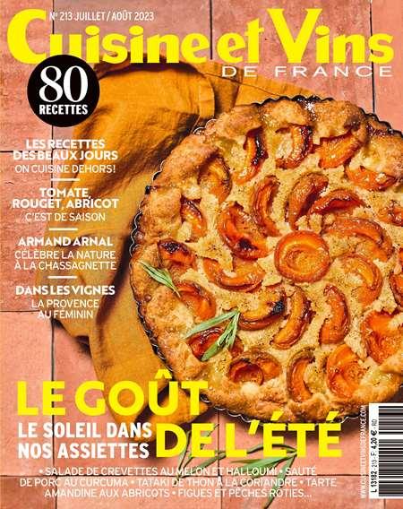 Achat et abonnement CUISINE ET VINS DE FRANCE - Revue, magazine, journal CUISINE ET VINS DE FRANCE