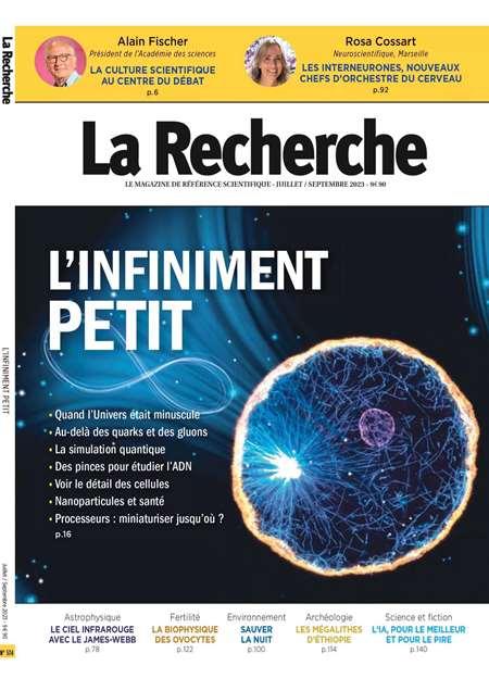 Abonement LA RECHERCHE - Revue - journal - LA RECHERCHE magazine