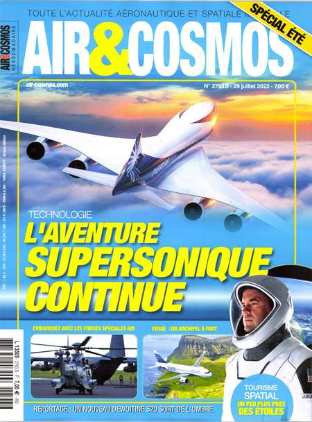 Abonement AIR ET COSMOS - Revue - journal - AIR ET COSMOS magazine