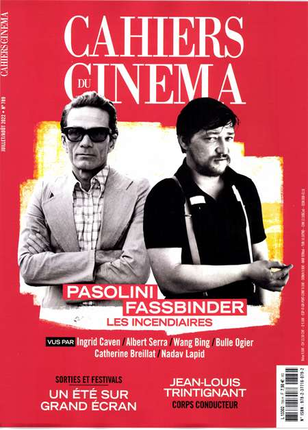 Abonement CAHIERS DU CINEMA - Revue - journal - CAHIERS DU CINEMA magazine