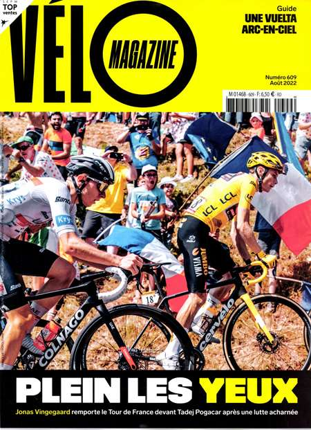 Abonement VELO MAGAZINE - Revue - journal - VELO MAGAZINE magazine