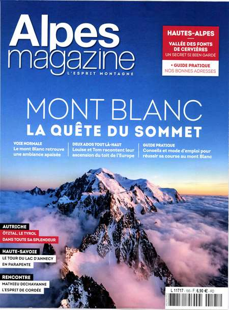 Abonement ALPES MAGAZINE - Revue - journal - ALPES MAGAZINE magazine