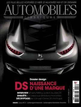 Achat et abonnement AUTOMOBILES CLASSIQUES - Revue, magazine, journal AUTOMOBILES CLASSIQUES