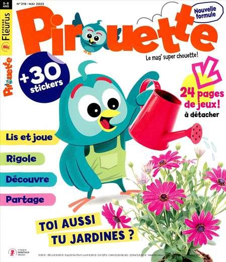Achat et abonnement PIROUETTE + HS - Revue, magazine, journal PIROUETTE + HS