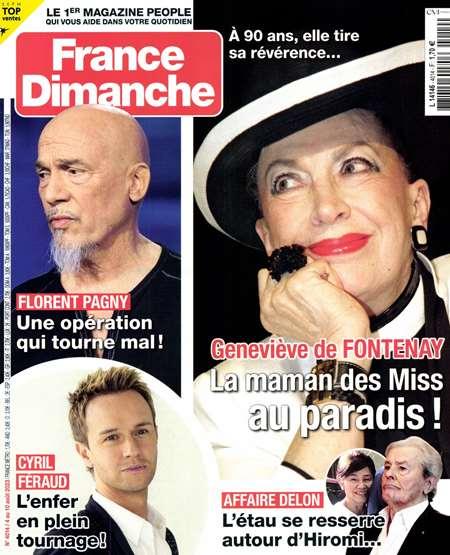 Achat et abonnement FRANCE DIMANCHE - Revue, magazine, journal FRANCE DIMANCHE