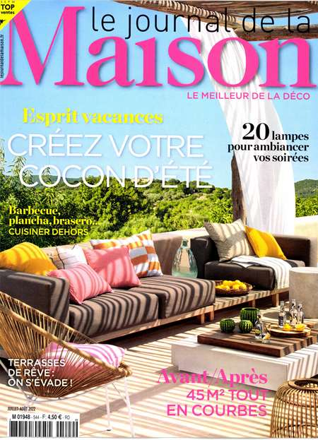 Abonement LE JOURNAL DE LA MAISON + CAMPAGNE DECORATION - Revue - journal - LE JOURNAL DE LA MAISON + CAMPAGNE DECORATION magazine