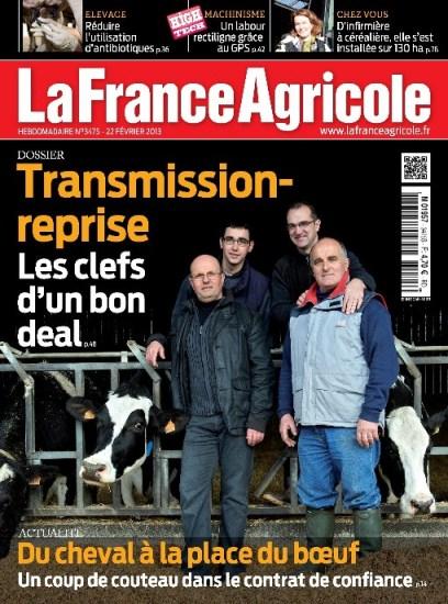 promotion LA FRANCE AGRICOLE