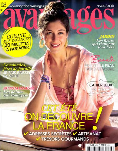 Achat et abonnement AVANTAGES - Revue, magazine, journal AVANTAGES