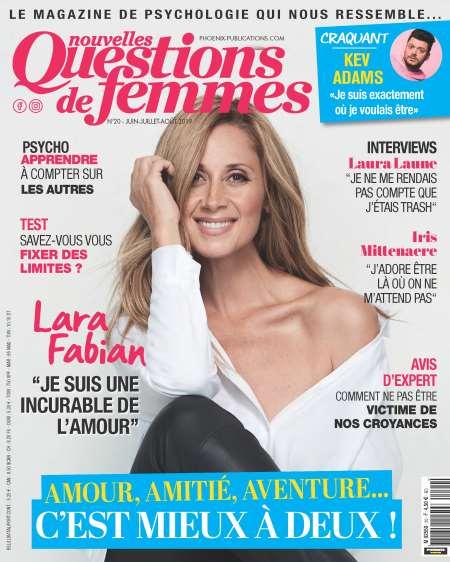 Achat et abonnement QUESTIONS DE FEMMES - Revue, magazine, journal QUESTIONS DE FEMMES