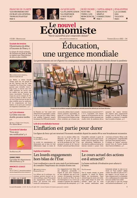Achat et abonnement LE NOUVEL ECONOMISTE - Revue, magazine, journal LE NOUVEL ECONOMISTE