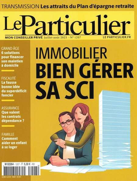Achat et abonnement LE PARTICULIER - Revue, magazine, journal LE PARTICULIER