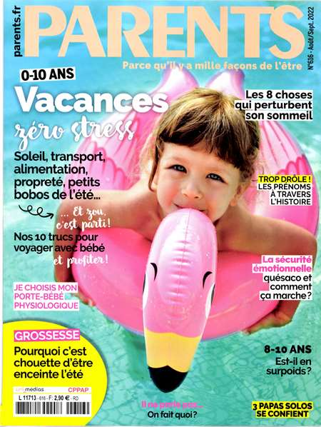 Achat et abonnement PARENTS - Revue, magazine, journal PARENTS