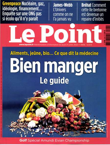 Abonement LE POINT - <p>LE POINT -50% pendant 6 mois sans engagement</p>
