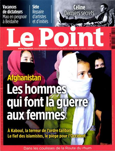 Achat et abonnement LE POINT - Revue, magazine, journal LE POINT