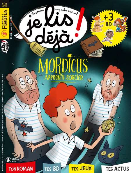Abonement JE LIS DEJA + HS - Revue - journal - JE LIS DEJA + HS magazine