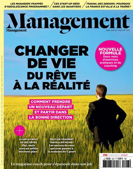 Abonement MANAGEMENT - Revue - journal - MANAGEMENT magazine