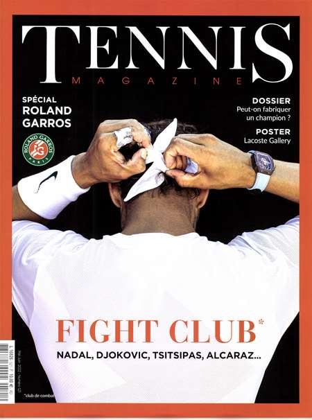 Abonement TENNIS MAGAZINE - Revue - journal - TENNIS MAGAZINE magazine