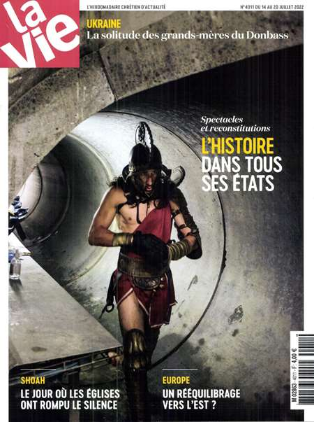 Achat et abonnement LA VIE - Revue, magazine, journal LA VIE