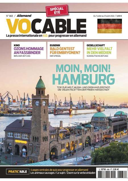 Abonement VOCABLE ALLEMAND - Revue - journal - VOCABLE ALLEMAND magazine