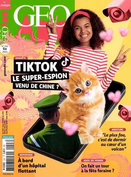 Achat et abonnement GEO ADO - Revue, magazine, journal GEO ADO