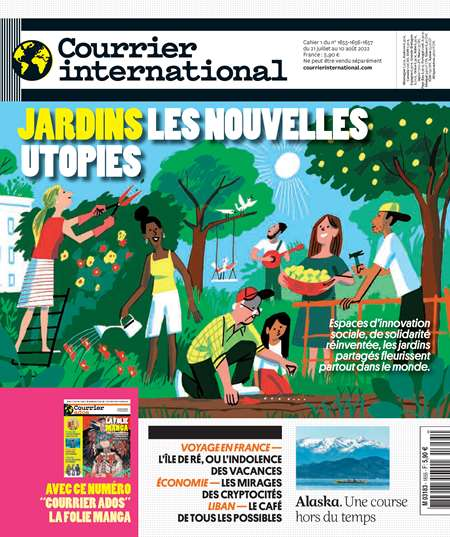 Abonement COURRIER INTERNATIONAL + HS - <p>COURRIER INTERNATIONAL + HS -50% pendant 6 mois sans engagement</p>
