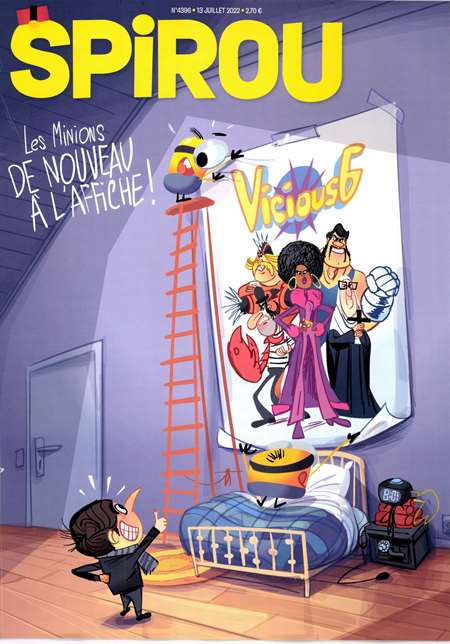 Abonement SPIROU - Revue - journal - SPIROU magazine