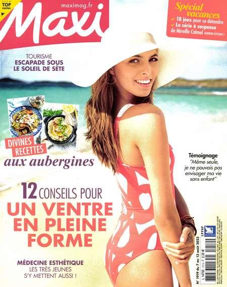 Achat et abonnement MAXI - Revue, magazine, journal MAXI