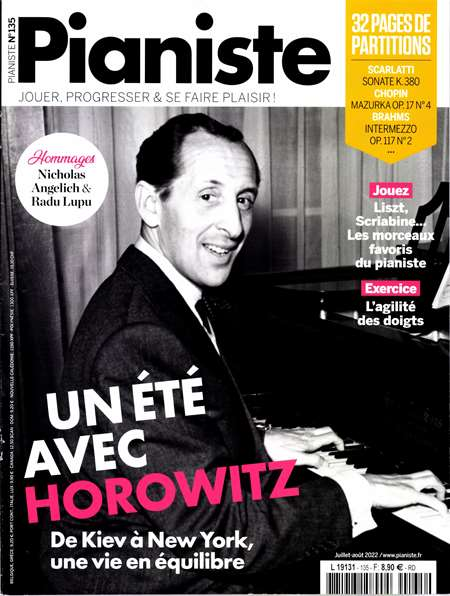 Abonement PIANISTE - Revue - journal - PIANISTE magazine