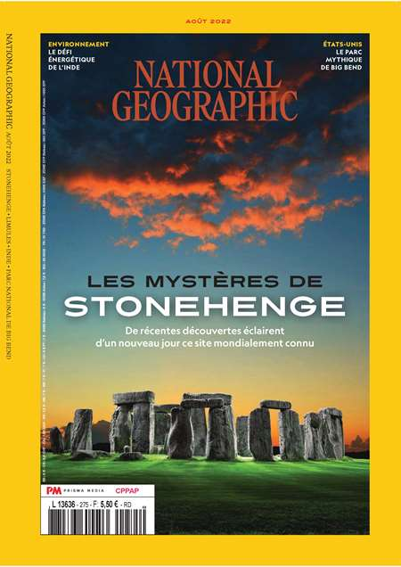 Achat et abonnement NATIONAL GEOGRAPHIC FRANCE - Revue, magazine, journal NATIONAL GEOGRAPHIC FRANCE