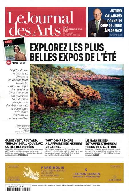Achat et abonnement LE JOURNAL DES ARTS - Revue, magazine, journal LE JOURNAL DES ARTS