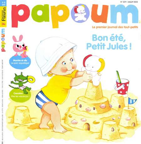 Abonement PAPOUM - Revue - journal - PAPOUM magazine