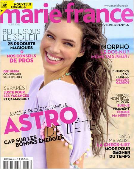 Abonement MARIE FRANCE - Revue - journal - MARIE FRANCE magazine