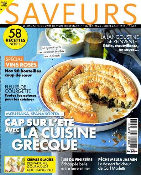 Achat et abonnement SAVEURS - Revue, magazine, journal SAVEURS