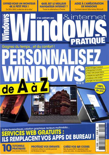 Achat et abonnement WINDOWS NEWS - Revue, magazine, journal WINDOWS NEWS