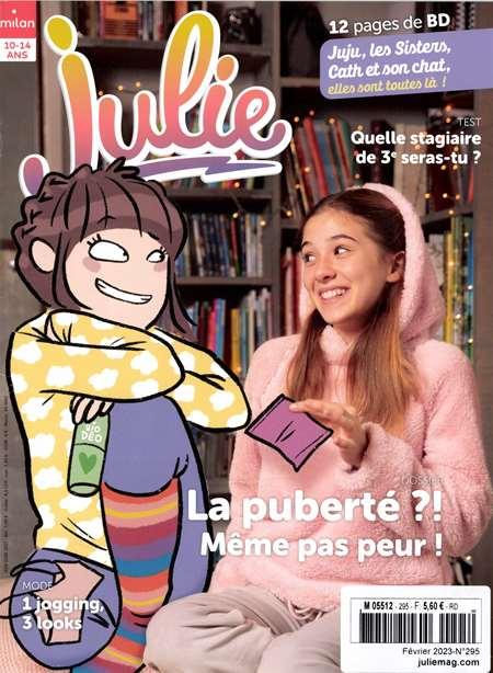 Abonement JULIE + HS - Revue - journal - JULIE + HS magazine