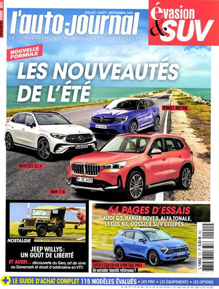 Abonement L'AUTO JOURNAL 4 X 4 - Revue - journal - L'AUTO JOURNAL 4 X 4 magazine