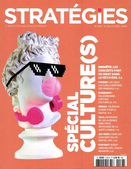 Achat et abonnement STRATEGIES - Revue, magazine, journal STRATEGIES
