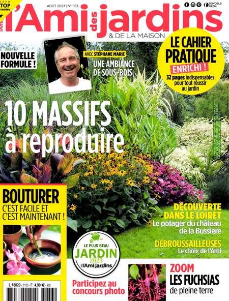 Achat et abonnement L'AMI DES JARDINS + 6 HS - Revue, magazine, journal L'AMI DES JARDINS + 6 HS