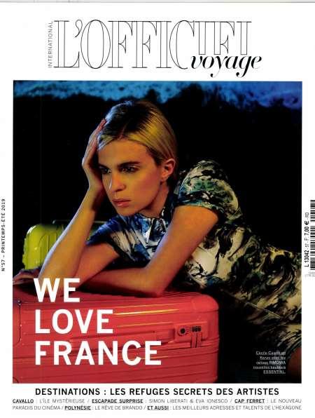 Achat et abonnement L'OFFICIEL VOYAGE - Revue, magazine, journal L'OFFICIEL VOYAGE