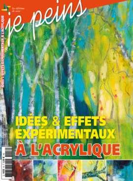 Achat et abonnement JE PEINS - Revue, magazine, journal JE PEINS