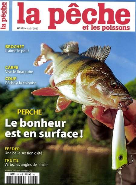 Achat et abonnement LA PECHE ET LES POISSONS - Revue, magazine, journal LA PECHE ET LES POISSONS