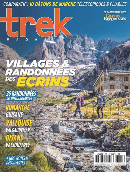 Abonement TREK MAGAZINE - Revue - journal - TREK MAGAZINE magazine