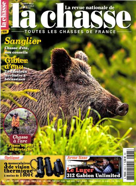 Achat et abonnement LA REVUE NATIONALE DE LA CHASSE - Revue, magazine, journal LA REVUE NATIONALE DE LA CHASSE