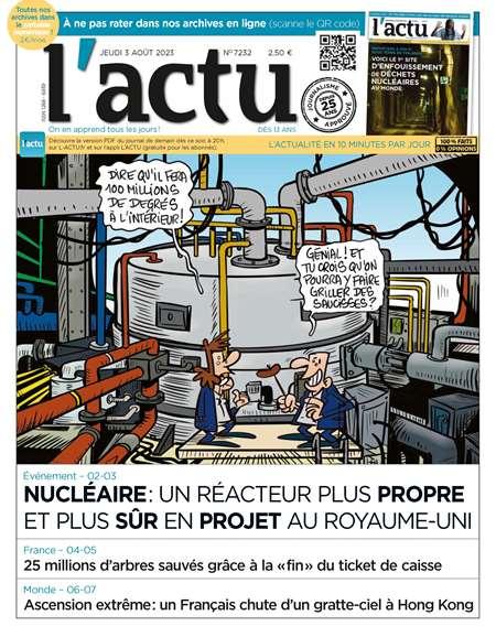 Achat et abonnement L'ACTU - Revue, magazine, journal L'ACTU
