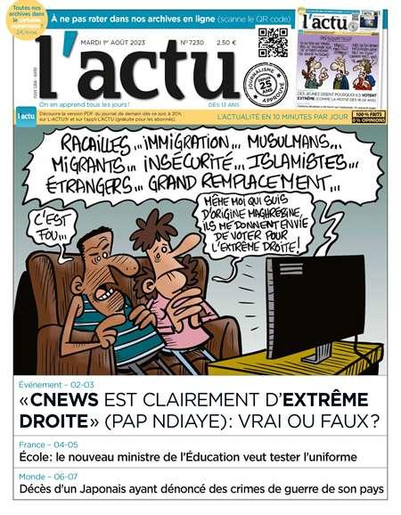Abonement L'ACTU - Revue - journal - L'ACTU magazine