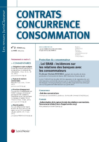 CONTRATS CONCURRENCE CONSOMMATION (photo)
