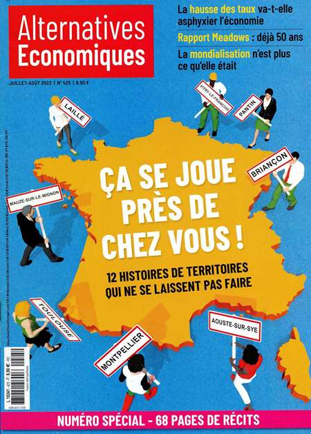 Abonement ALTERNATIVES ECONOMIQUES - Revue - journal - ALTERNATIVES ECONOMIQUES magazine