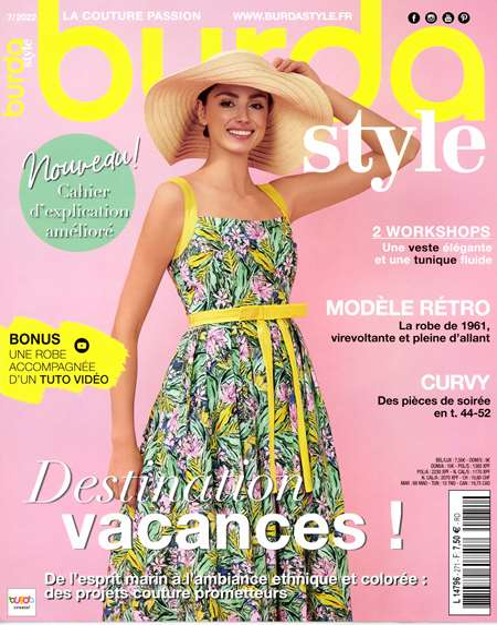 fe46efb6ba7 Magazine BURDA TENDANCES MODE + HS - Sports   Loisirs mensuel